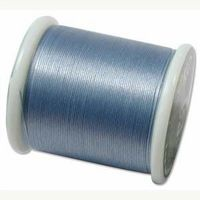 KO thread Waxed coated Japanese Thread Light Blue for jewellery making and beadwork